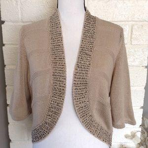 Chico's Gemstone Shrug Cardigan Sweater NWT